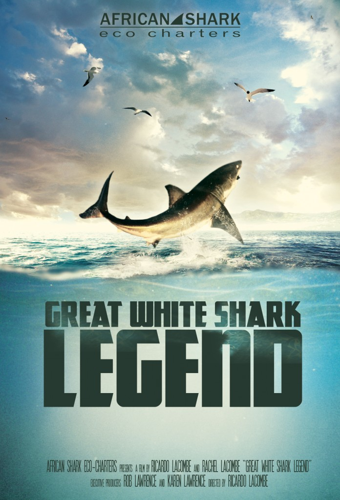 Great White Shark Legend poster